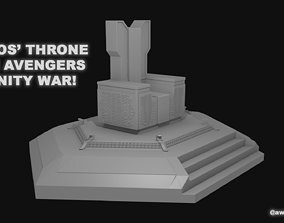 3D printable model Thanos Throne from Infinity