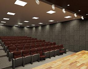 3D model Conference Hall Design