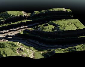 3D model Plateau River 05