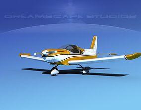 Zlin Z 242 V02 3D model