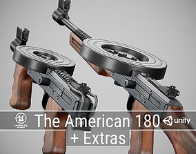 PBR The American 180 3D model realtime