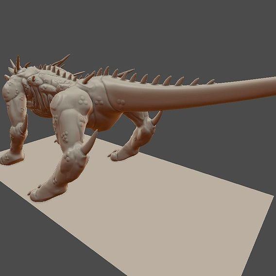 Dragon dog ( Somewhat finished )