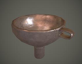 Metal Funnel 3D model