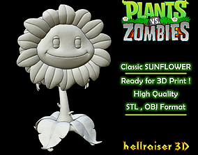 Plants vs Zombies - Classic Sunflower 3D printable model