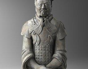 Terracotta Chinese Warrior 3D model
