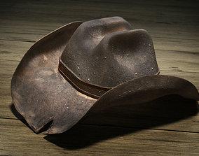 Wild West Cowboy Hat 3D model