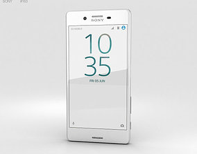 xperia Sony Xperia X Performance White 3D model