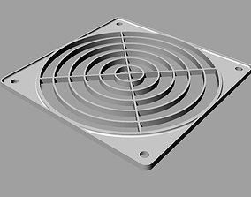 protection grid for 120 mm fan 3D print model