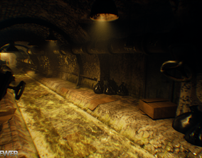 3D model Horror Sewer Environment
