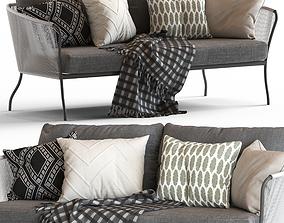 3D Globewest Malaga Sofa