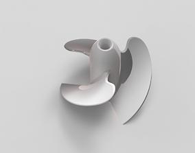Impeller 3D print model