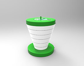 household Foldable CUP 3D
