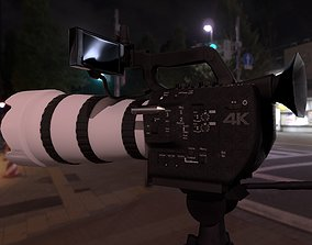 3D asset Professional Camera