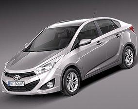 Hyundai HB20 S 2013 3D