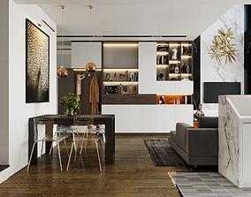 3D model Duplex Apartment 3