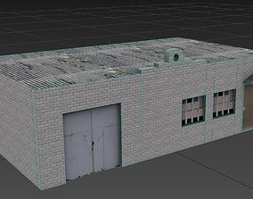 Industrial Building 01 3D