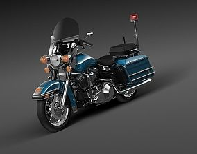 king Harley Davidson 3D model
