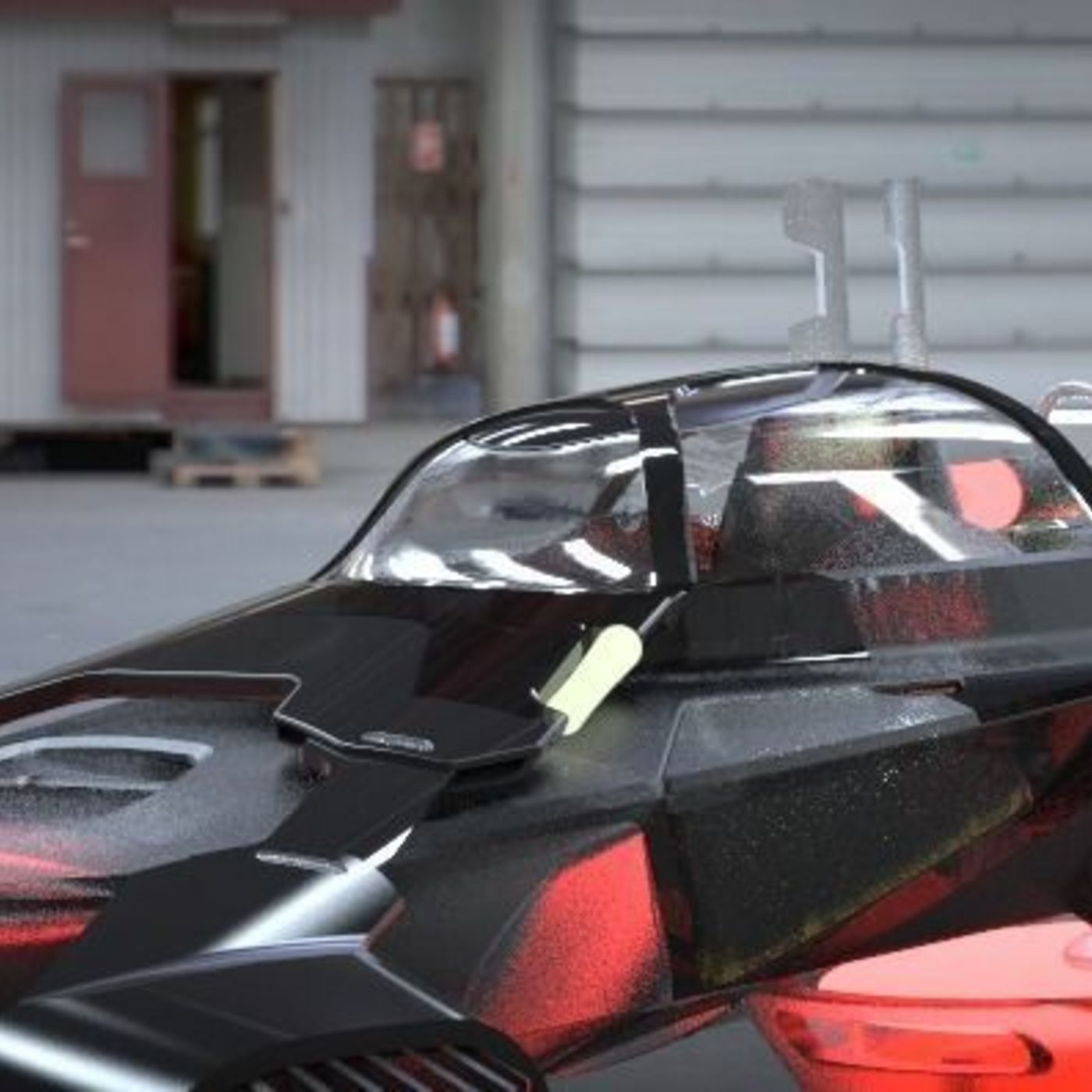 Hoover Car | CGTrader