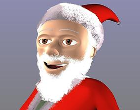 Santa Christ model 3D asset