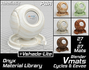 VMATS Onyx Material Library for Blender Cycles and 3D