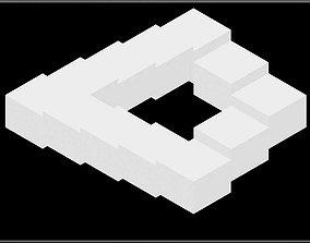 Penrose Stair 3D model