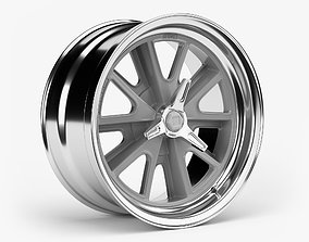 American Racing Heritage Wheel rim 3D model