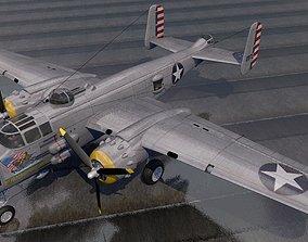 North American B-25J-1 Mitchell 3D model