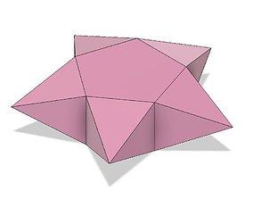 3D print model Origami Star Box