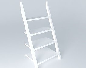 3D Ladder bookshelf