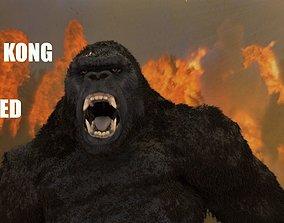 KING KONG SKULL ISLAND MODEL