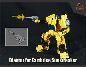 Blaster for Transformers Earthrise 3D print model