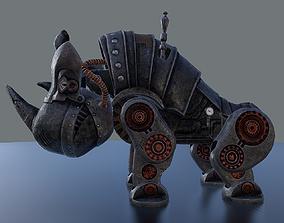 3D model Steampunk Rhino