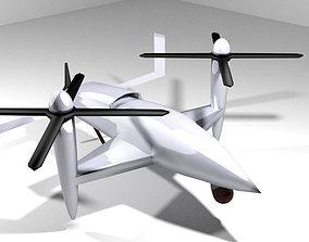 3D model Drone - UAV Eagle Eye