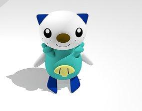 3D asset Oshawott Pokemon