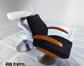 3D Hair Washing Seat