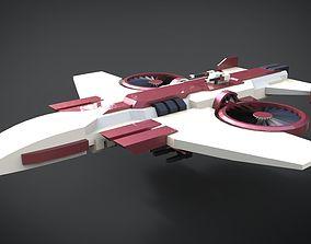 3D asset Assault Gunship