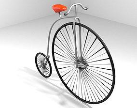 Bicycle - Vintage 3D model