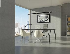 3D model the boss office