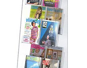 Magazine Store Rack 3D