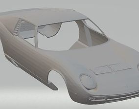 Lamborghini Miura Printable Body Car