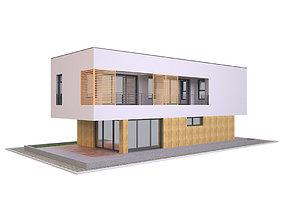 3D model Modern House 2