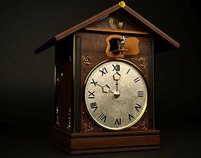 clock cuckoo 3D model