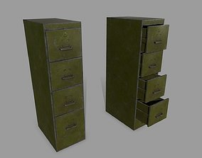 counter Cabinet 3D asset VR / AR ready