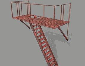 Fire Escape 3D asset realtime