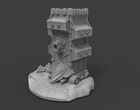 Alliance Siege Tower - World of 3D printable model