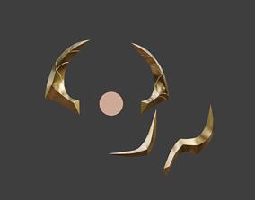 Dark Cosmic Lux Head accessories 3D printable model