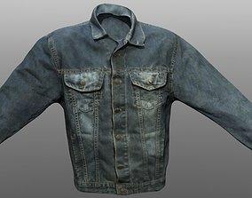 3D asset Jacket Jeans Closed