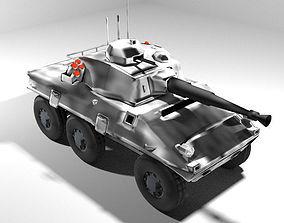 3D model Armoured Car - Cascavel