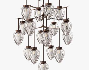 Holly Hunt - Chamber chandelier furniture 3D model