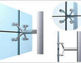 3D Revit spider systems